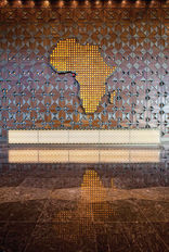 MALABO CONFERENCE CENTER AFRICA RECEPTION DESK