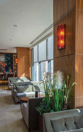 MERCURE HOTEL TOPKAPI - ISTANBUL LOBBY / WALL LAMP