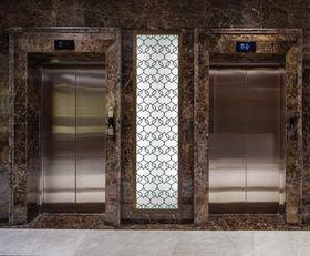 MERCURE HOTEL TOPKAPI - ISTANBUL RESTAURANT ENTRENCE / GLASS PANEL LIGHTING