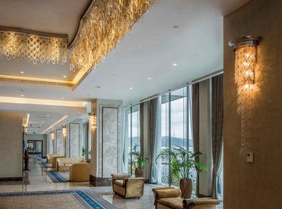 GRAND TARABYA HOTEL ISTANBUL BALLROOM FOYER / WALL LAMP