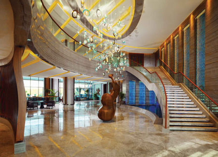 SHERATON HOTEL ADANA  LOBBY / PENDANT INSTALLATION