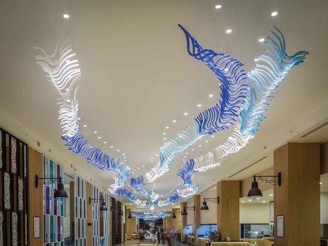 TITANIC HOTEL LARA-ANTALYA MAIN RESTAURANT / GLASS INSTALLATION