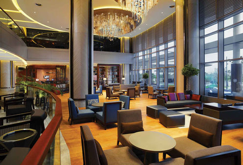 SHERATON HOTEL ADANA  LOBBY LOUNGE / LIGHTING
