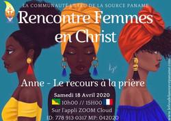 Rencontres Femmes en Christ Feu de la Source Anne