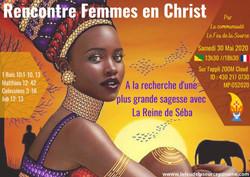 Femmes en Christ Feu de la Source La Reine de Saba