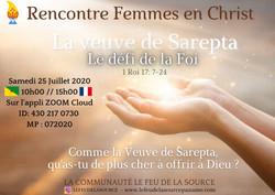 Femmes en Christ Feu de la Source Veuve