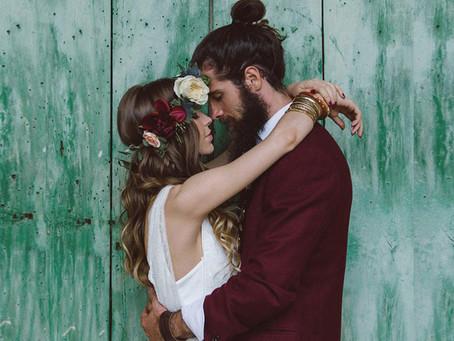 6 claves para ser una novia Boho Chic