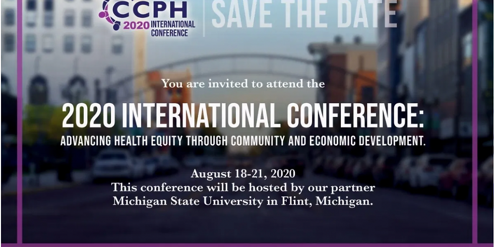 CCPH 2020 International Conference