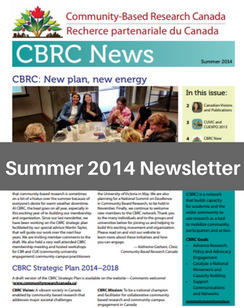 Summer 2014 e-News
