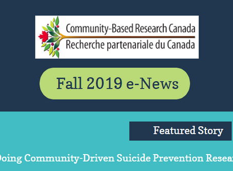 Learn the Latest about Community-Based Research Canada