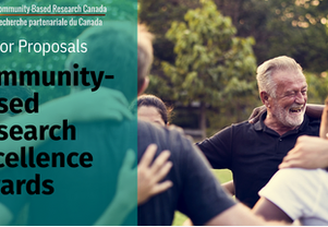 Community-Based Research Excellence Award Nominations