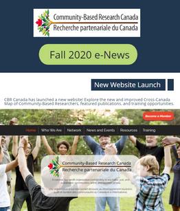 Fall 2020 e-News