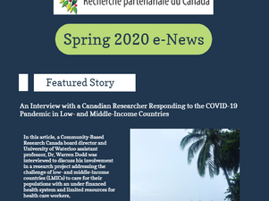 e-News: Community-Based Research Canada