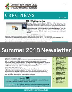 Summer 2018 e-News
