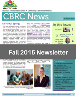 Fall 2015 e-News
