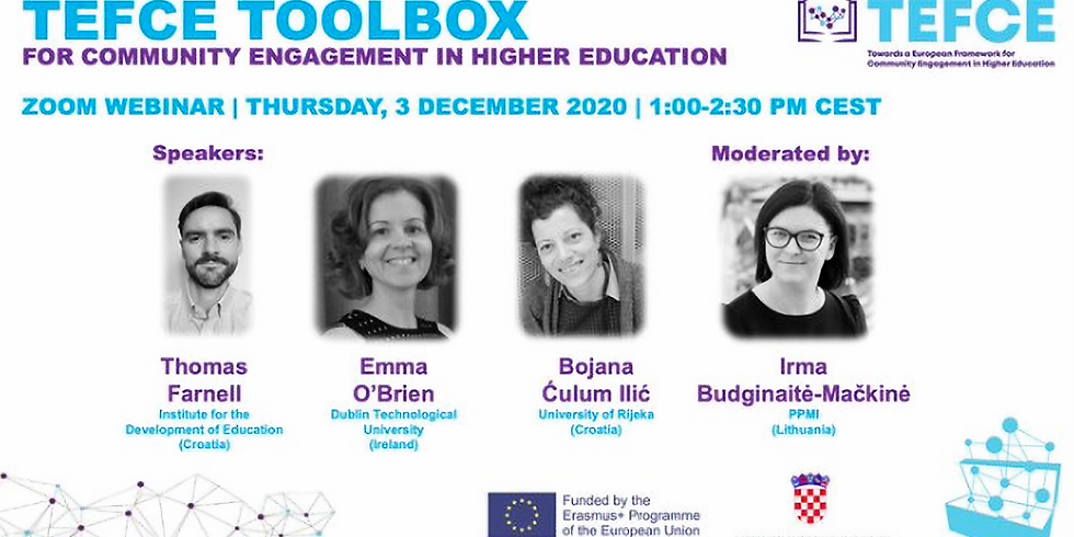 TEFCE Toolbox: A new framework to support community engagement in European higher education
