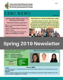 Spring 2019 e-News