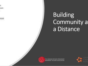 Event: Building Community at a Distance