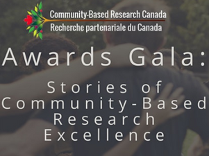Community Based Research Canada: Awards Gala