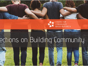 Blog: Building Community at a Distance