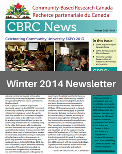 Winter 2014 e-News