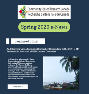 Spring 2020 e-News