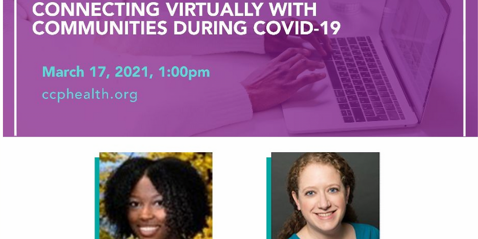 Advancing equity through shared measurement: Lessons from connecting virtually with communities during COVID-19