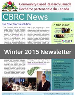 Winter 2015 e-News