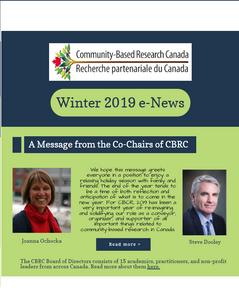 Winter 2019 e-News