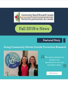 Fall 2019 e-News