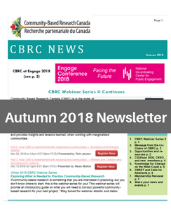 Autumn 2018 e-News