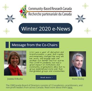 Winter 2020 e-News