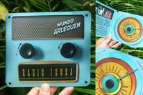 Cover CD Mundo Arlequín - Radio Funka.