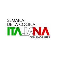Semana de la Cocina Italiana en Buenos Aires. Logotipo. Identidad.