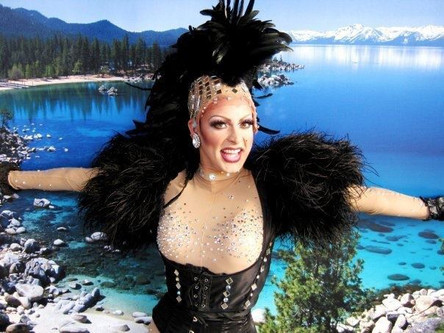 Showgirl in Lake Tahoe