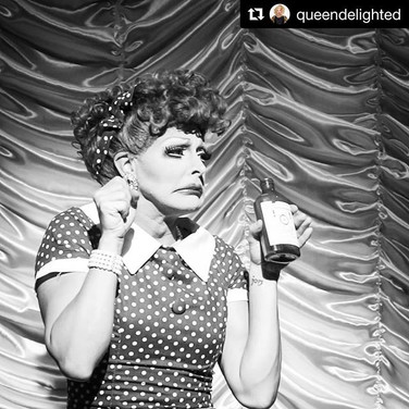 Gigi as Lucille Ball at Act II Stages, Puerto Vallarta