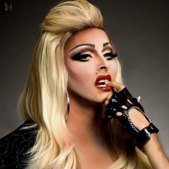 Gigi as Madonna. Photo by Leonard Holton