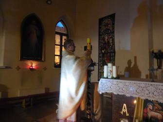 Пасха в нашем храме
