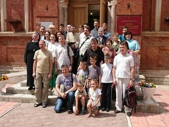 Прием гостей из Калуги