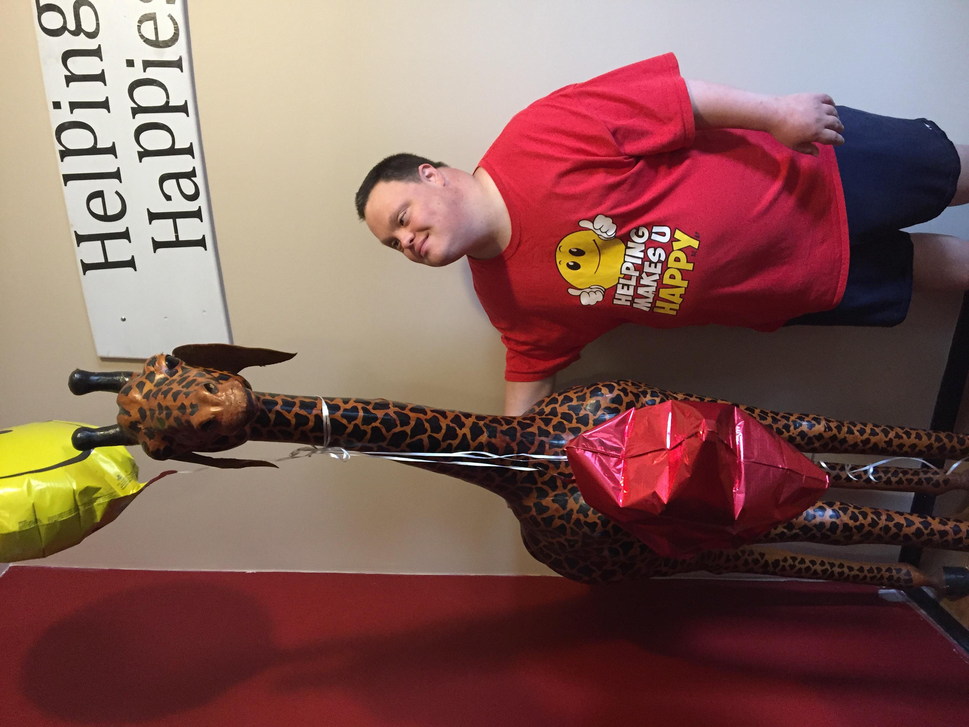 Name Our Giraffe Contest