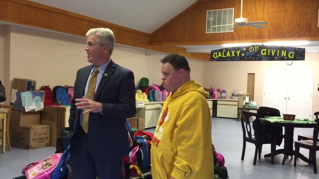 Suffolk County Executive Steve Bellone Visits HMUH