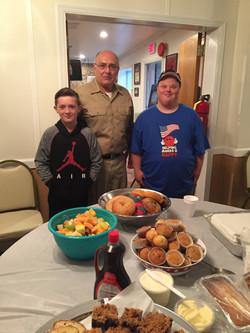 Breakfast for the Veterans