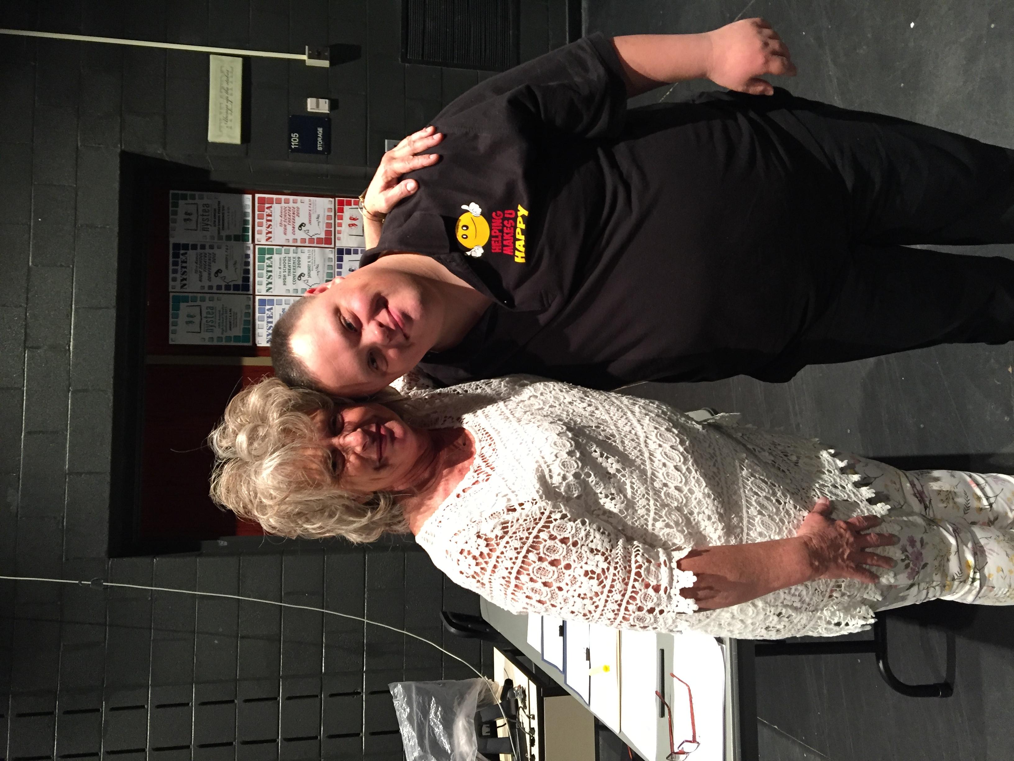With Sue Floridia @ ESM
