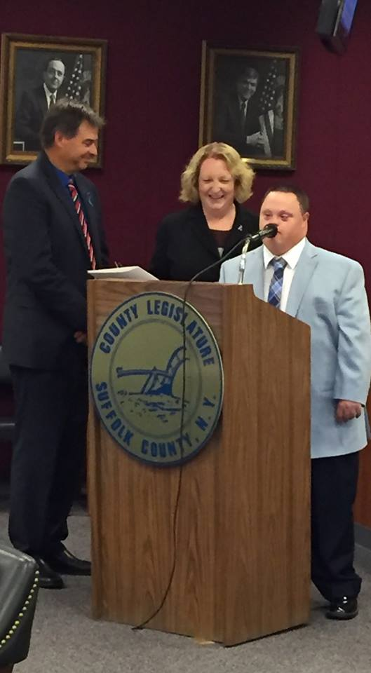 Suffolk County recognizes Keith