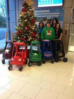 Donation to Children's Cancer Center