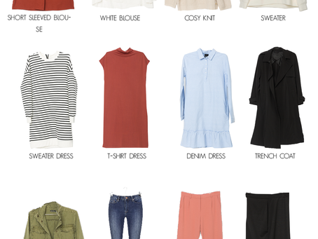 The capsule wardrobe by Lily