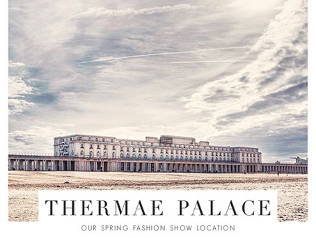 Thermae Palace // the spring fashion show location