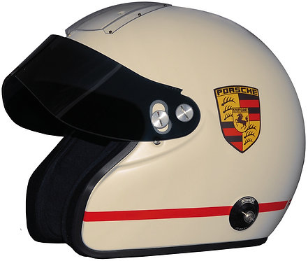 Porsche Rennsportヘルメット IVOSオープンフェィス DD SNELL2015