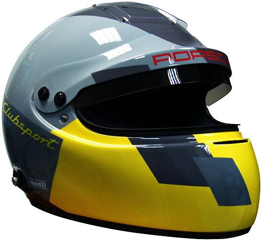 Porsche GT4 Clubsport ヘルメット IVOS DD SNELL2015