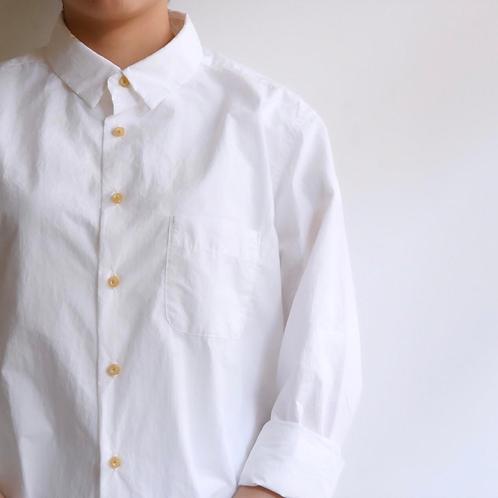 MUYA|ナードシャツ レギュラーカラー